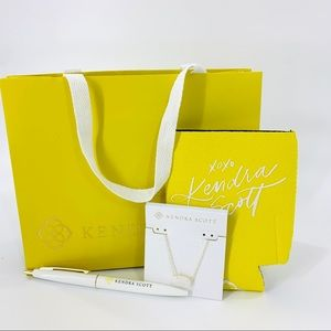 Kendra Scott Gold Plated Necklace Gift Set